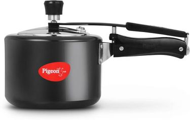 Pigeon Titanium 12421 Hard Anodized 3 L Pressure Cooker (Induction Bottom,Inner Lid) Price in India