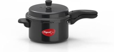 Pigeon Titanium Hard Anodized 5 L Pressure Cooker (Induction Bottom,Outer Lid) Price in India