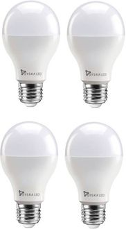 Syska 12 W Standard E27 1200L LED Bulb (Yellow,Pack of 4) Price in India