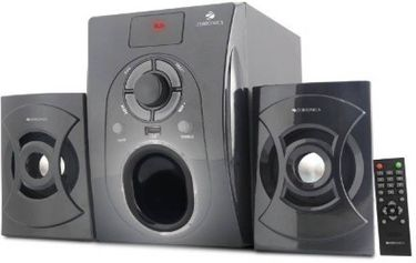 Zebronics ZEB-BT351RUF 2.1 Channel Multimedia Speaker Price in India