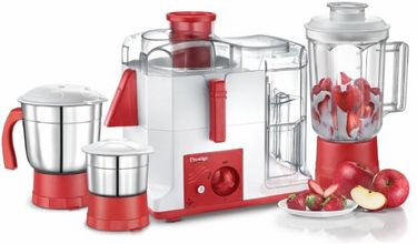 Prestige 4118 550W Juicer Mixer Grinder (3 Jars) Price in India