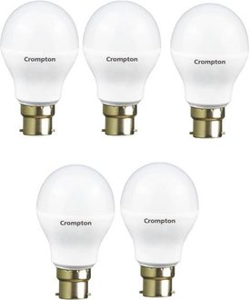 Crompton Led Pro 7W Standard B22 540L LED Bulb (Yellow,Pack of 5) Price in India