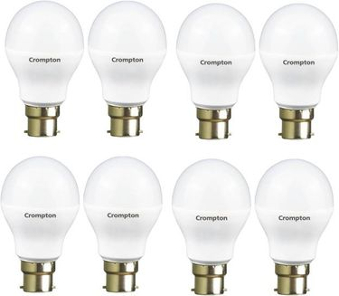 Crompton Led Pro 7W Standard B22 540L LED Bulb (Yellow,Pack of 8) Price in India