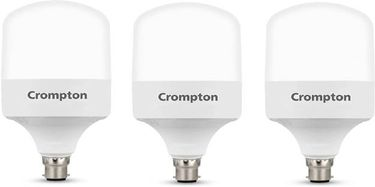 Crompton 50W Standard B22 5000L LED Bulb (White,Pack of 3) Price in India