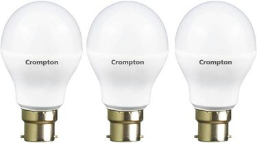 Crompton Led Pro 3W Standard B22 225L LED Bulb (Yellow,Pack of 3) Price in India