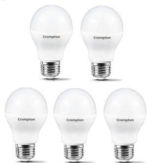 Crompton Led Pro 7W Standard E27 540L LED Bulb (Yellow,Pack of 5) Price in India