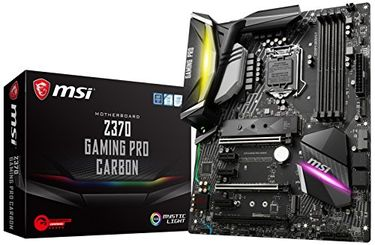 MSI Z370 GAMING PRO CARBON DDR4 Motherboard Price in India