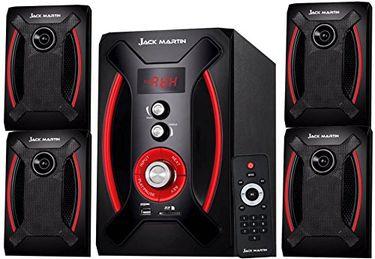 Jack Martin BRAVO 2.1 Channel Multimedia Speaker Price in India