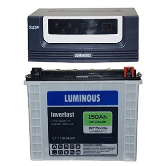 Luminous Eco Volt 1050 Home UPS (With ILTT 18048N Battery) Price in India