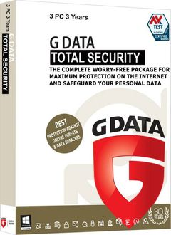 G Data Total Security 3 PC 3 Year Antivirus Price in India