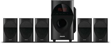 Philips SPA5190B 5.1 Channel Multimedia Speaker Price in India