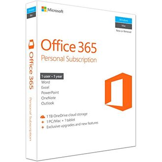 Microsoft Office 365 Personal 1 User 1 Year (32/64-bit) Key Price in India