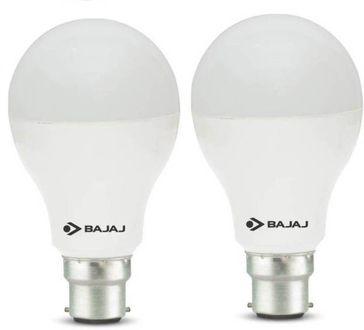 Bajaj Corona 12W Standard B22 1200L LED Bulb (White,Pack of 2) Price in India