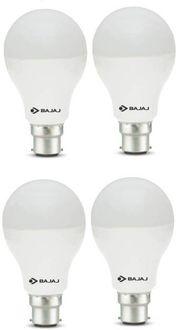 Bajaj Corona 12W Standard B22 1200L LED Bulb (White,Pack of 4) Price in India