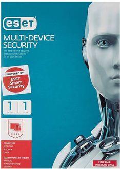 Eset Multi Device Security Version 9 1 PC 1 Year Antivirus Price in India