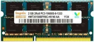 Hynix (H15201504-22) 2GB DDR2 Laptop Ram Price in India
