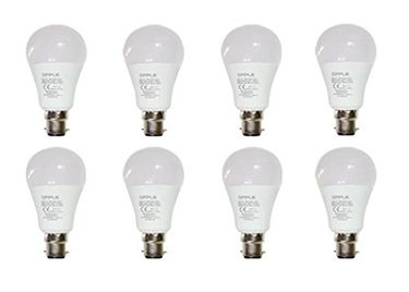 Opple 9W Round B22 720L LED Bulb (Yellow,Pack of 8) Price in India