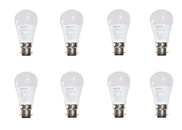 Opple 5W Round B22 320L LED Bulb (Yellow,Pack of 8) Price in India