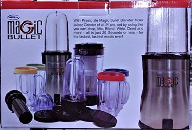 Presto Life Magic Bullet 600W Blender Juicer Mixer Grinder Price in India
