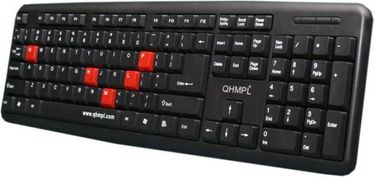 Quantum (QHMPL7412) Wired USB Keyboard Price in India