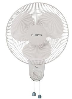 Surya Force 3 Blade (400mm) Wall Fan Price in India