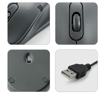 Zebronics Power Plus Wired Optical Mouse Price in India