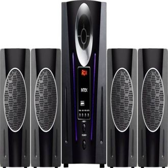 Intex IT 2650 DIGI PLUS FMUB 4.1 Channel Multimedia Speaker Price in India