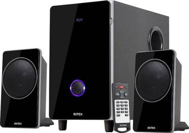 Intex IT 2710 FMUB 2.1 Channel Multimedia Speaker Price in India
