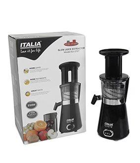 Italia ISJ-2727 350W Juice Exttractor Mixer Price in India
