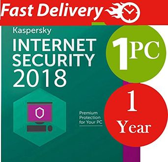 Kaspersky Internet Security 2018 1 PC 1 Year Antivirus (Key Only) Price in India