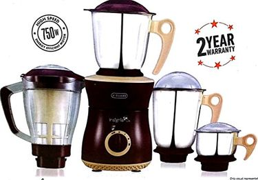V-Guard Insignia Dx 750W Juicer Mixer Grinder (4 Jars) Price in India