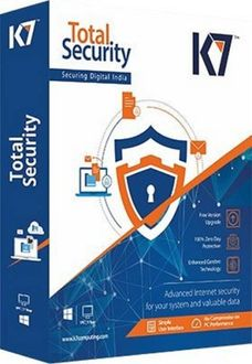 K7 Total Security 2018 3 PC 1 Year Antivirus Price in India