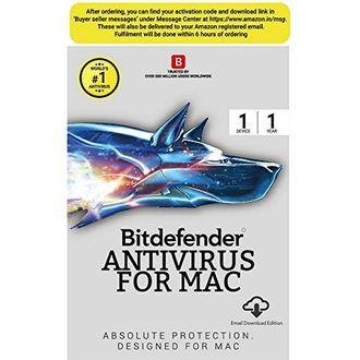 Bitdefender Antivirus For MAC 1 PC 1 Year Antivirus (Activation Code) Price in India