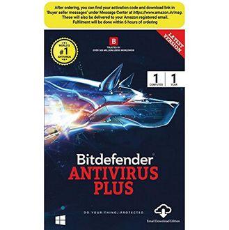 Bitdefender Antivirus Plus 2017 1 PC 1 Year Antivirus (Key) Price in India