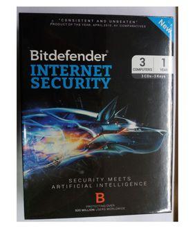Bitdefender Internet Security 2016 3 PC 1 Year Antivirus (Key) Price in India