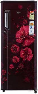 Whirlpool 215 IMPWCOOL PRM 4S 200L Single Door Refrigerator (Wine Magnolia) Price in India