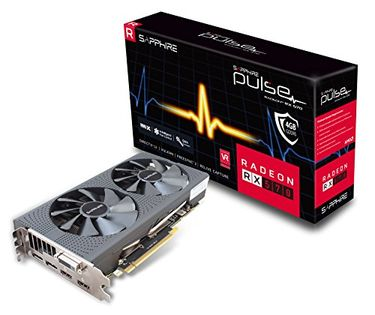 Sapphire Pulse Radeon RX 570 4GB DDR5 Graphic Card Price in India