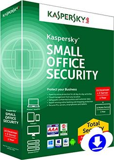 Kaspersky Small Office Security 15 PC's, 2 Servers (Key) Price in India