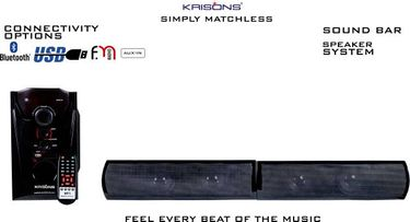 Krisons Superstar 4.1 Channel Multimedia Speakers Price in India