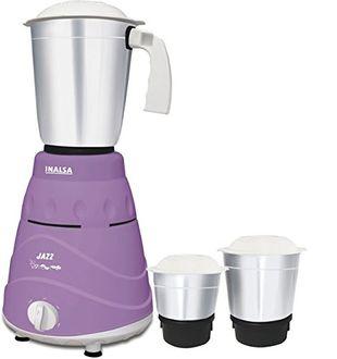 Inalsa Jazz 550W Mixer Grinder (3 Jars) Price in India