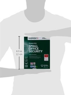 Kaspersky Small Office Security 5 PC's, 1 File Server Antivirus (Key Only) Price in India