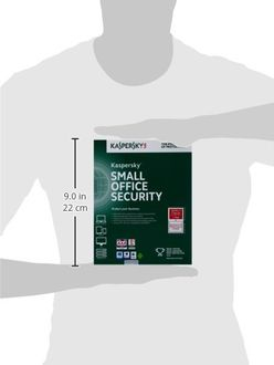 Kaspersky Small Office Security 20 PC's, 2 File Server Antivirus (Key Only) Price in India