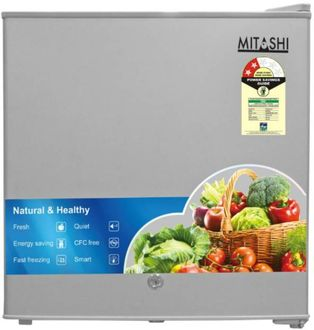 Mitashi MSD050RF100 46L 2 Star Single Door Refrigerator Price in India