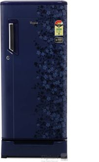 Whirlpool 200 IMPWCOOL ROY 4S 185L Single Door Refrigerator (Sapphire Exotica) Price in India