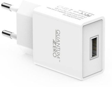 QuantumZero QZ-WC16 2.4A USB Wall Charger Price in India