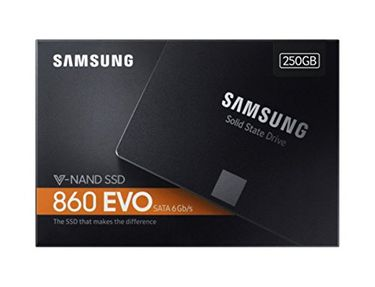 Samsung 860 EVO (MZ-76E250BW) 250GB Internal SSD Price in India