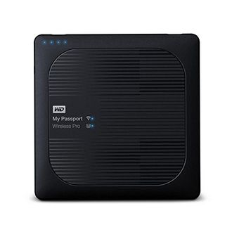 WD My Passport Wireless Pro (WDBSMT0040BBK-BESN) 4TB Hard Disk Price in India