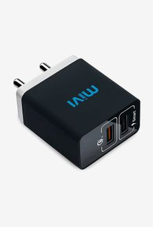 Mivi 5.4A Dual Port USB Car Charger Price in India