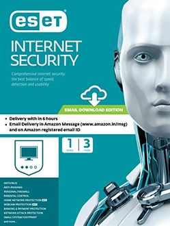 Eset Internet Security 1 PC 3 Year Antivirus (Key Only) Price in India