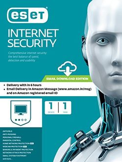 Eset Internet Security 1 PC 1 Year Antivirus (Key Only) Price in India